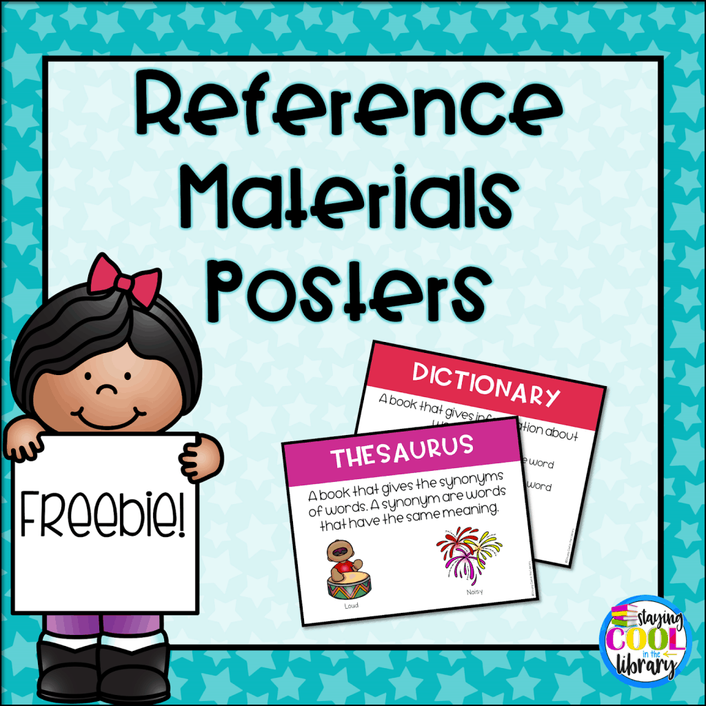 Reference Materials Posters - Freebie