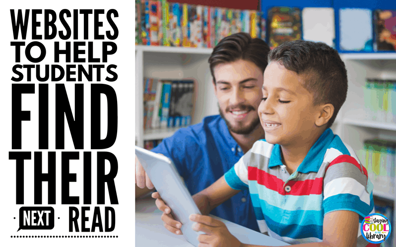 Websites to Help Students Find Their Next Read